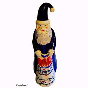 Vintage 1993 habd painted Santa